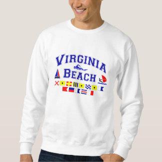 Virginia Beach VA Signal Flags Sweatshirt