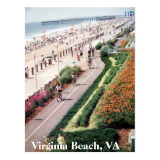 Virginia Beach Virginia Post card from 1992