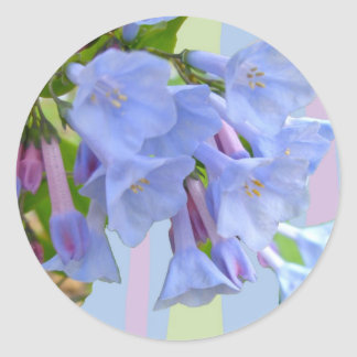 Virginia Bluebells Wildflower Sticker