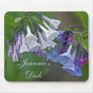 Virginia Bluebells Wildflowers Mouse Pad