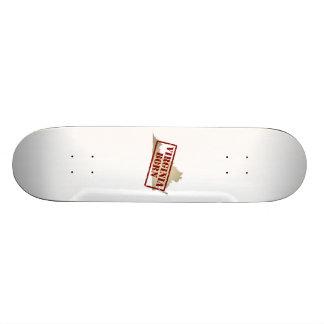 Virginia Born - Stamp on Map Custom Skateboard
