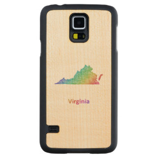Virginia Carved Maple Galaxy S5 Case