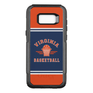 Virginia Cavaliers Logo | Basketball OtterBox Commuter Samsung Galaxy S8+ Case