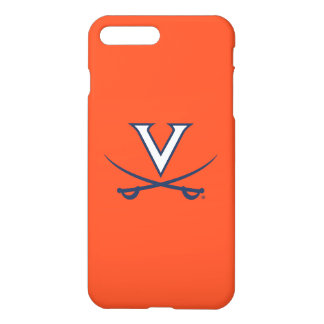 Virginia Cavaliers V Swords | Blue iPhone 8 Plus/7 Plus Case