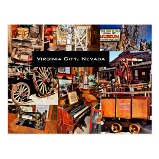 VIRGINIA CITY, NEVADA POSTCARD
