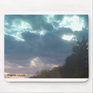 Virginia Clouds Mousepad Mouse Pads