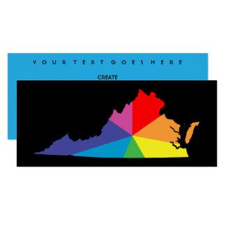 virginia color burst 10 cm x 24 cm invitation card