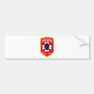 Virginia Defense Force - Echo Company Bumper Sticker