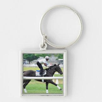 Virginia Derby Winner War Dancer Keychain