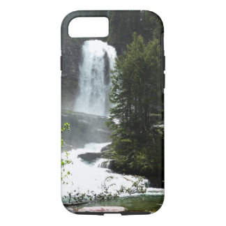 Virginia Falls at Glacier National Park iPhone 8/7 Case