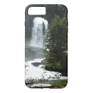 Virginia Falls at Glacier National Park iPhone 8 Plus/7 Plus Case