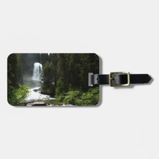 Virginia Falls at Glacier National Park Luggage Tag