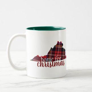 Virginia - Home for Christmas Mug