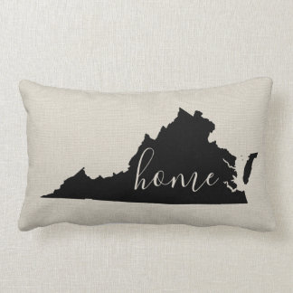 Virginia Home State Throw Pillow