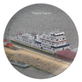 Virginia Ingram plate