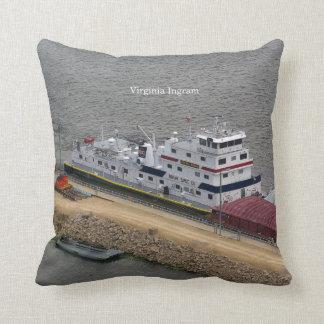 Virginia Ingram square pillow