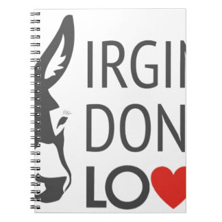 Virginia is for Donkey Lovers Notebook