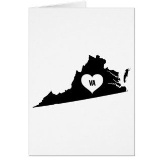 Virginia Love Card