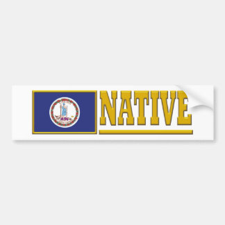 Virginia Native Bumper Sticker