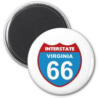Virginia State Magnet