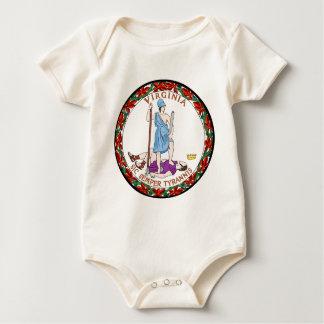Virginia state seal.jpg baby bodysuit