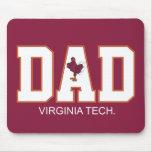 Virginia Tech Dad Mouse Mat