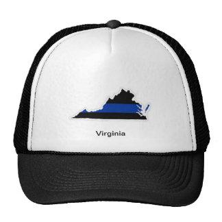 Virginia Thin Blue Line Trucker Hat