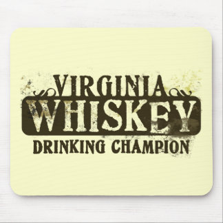 Virginia Whiskey Drinking Champion Mouse Mat