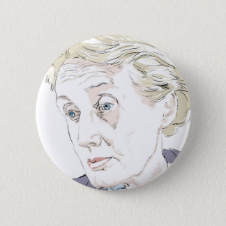 Virginia Woolf 6 Cm Round Badge