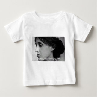 Virginia Woolf Dine/Love Well Love Quote Gifts Baby T-Shirt