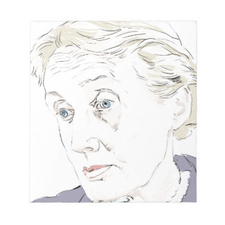 Virginia Woolf Notepad