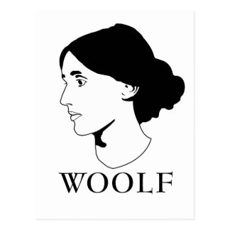 Virginia Woolf Postcard
