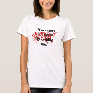 Virginia Woolf quote Fans RED MARK DESIGN T-Shirt