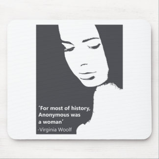 Virginia Woolf quote Mouse Pad