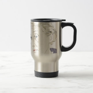 Virginia Woolf Travel Mug