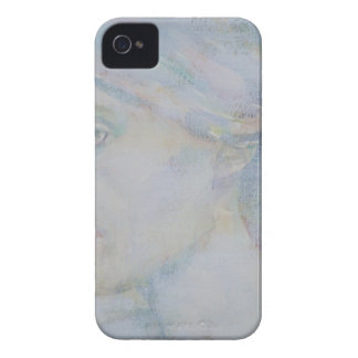 virginia woolf - watercolor portrait.1 Case-Mate iPhone 4 case