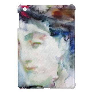 virginia woolf - watercolor portrait.3 case for the iPad mini