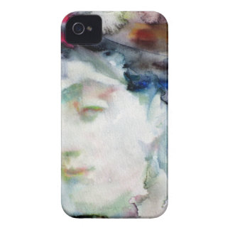virginia woolf - watercolor portrait.3 iPhone 4 Case-Mate case