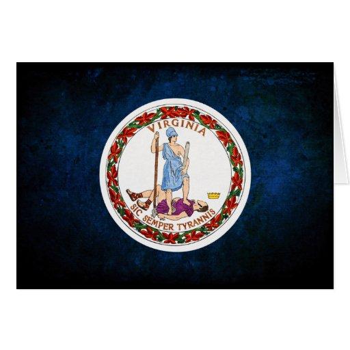 Virginian Flag Cards