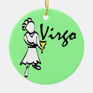 Virgo Astrology Ornament