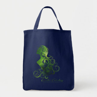 Virgo Astrology Grocery Tote Bag