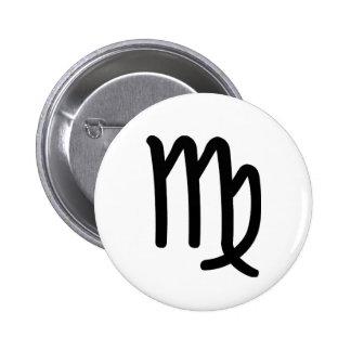 Virgo Pinback Buttons