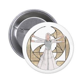Virgo Pinback Button