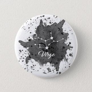 Virgo Black Button