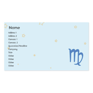 Virgo - Business Business Cards