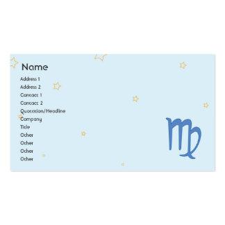 Virgo - Business Business Card Templates