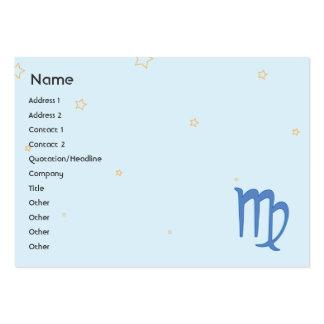 Virgo - Chubby Business Card Template