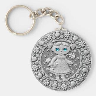 Virgo Coin basic keychain