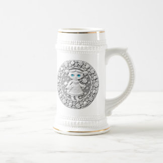 Virgo Coin Beer Stein