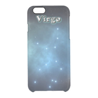 Virgo constellation clear iPhone 6/6S case